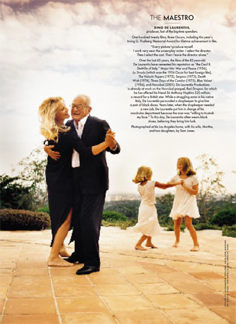 De Laurentiis Family (c) Vanity Fair